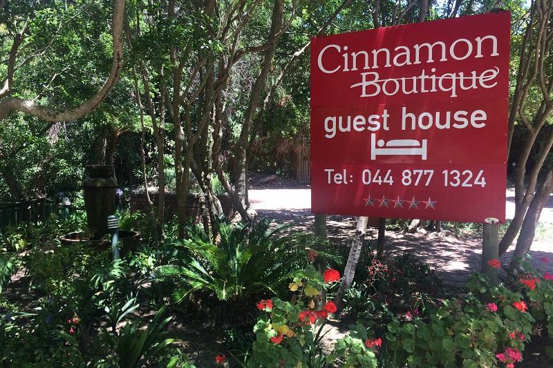 Cinnamon Boutique Guest House Entrance