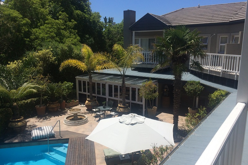 Cinnamon Boutique Guest House Pool and Garden View
