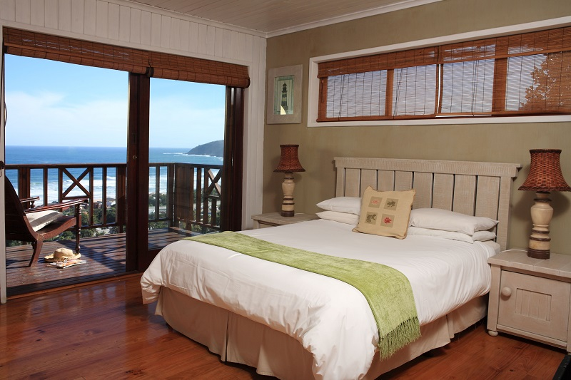 Boardwalk Lodge Chalet Bedroom