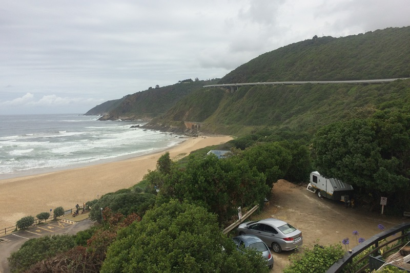 Beach House Backpackers View To West